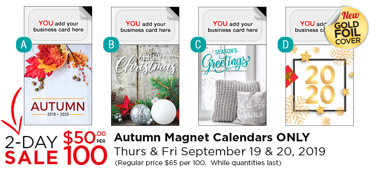 Magnet Calendar Covers