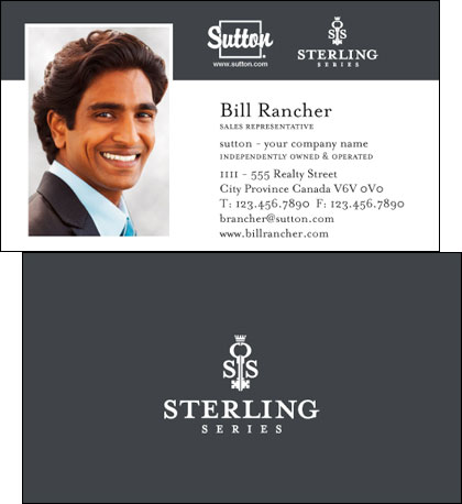 Sutton sterling series business cards reheart Image collections